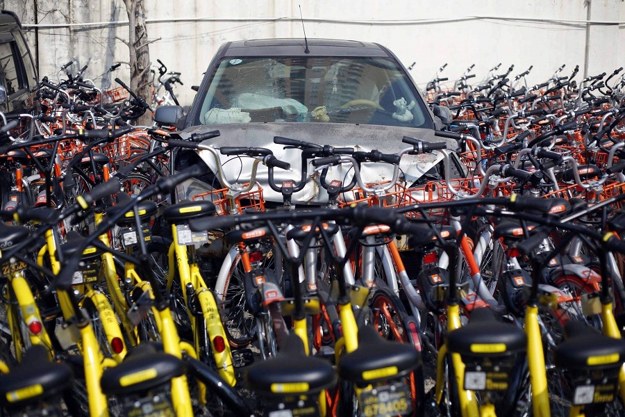 To suspend on the Shared cycling, worship, ofo: how do you say
