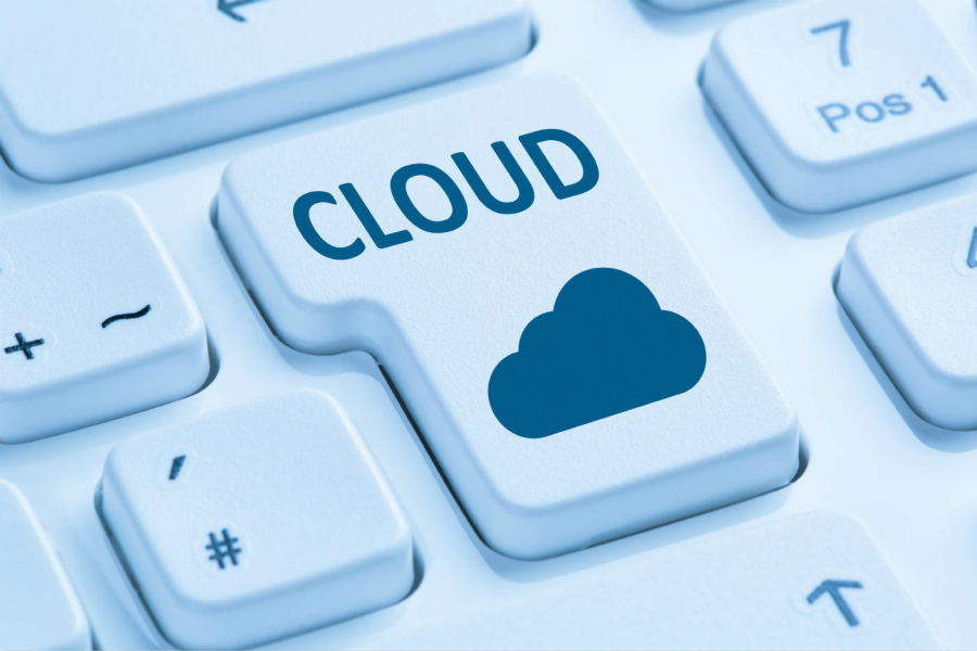 See how cloud computing surges in the second half?
